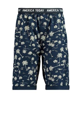pyjamashort Lake donkerblauw