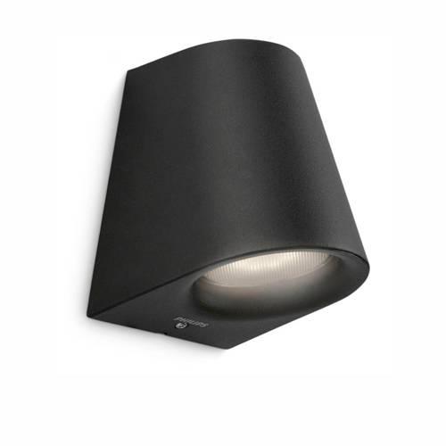 Philips myGarden Virga Wandlamp Zwart