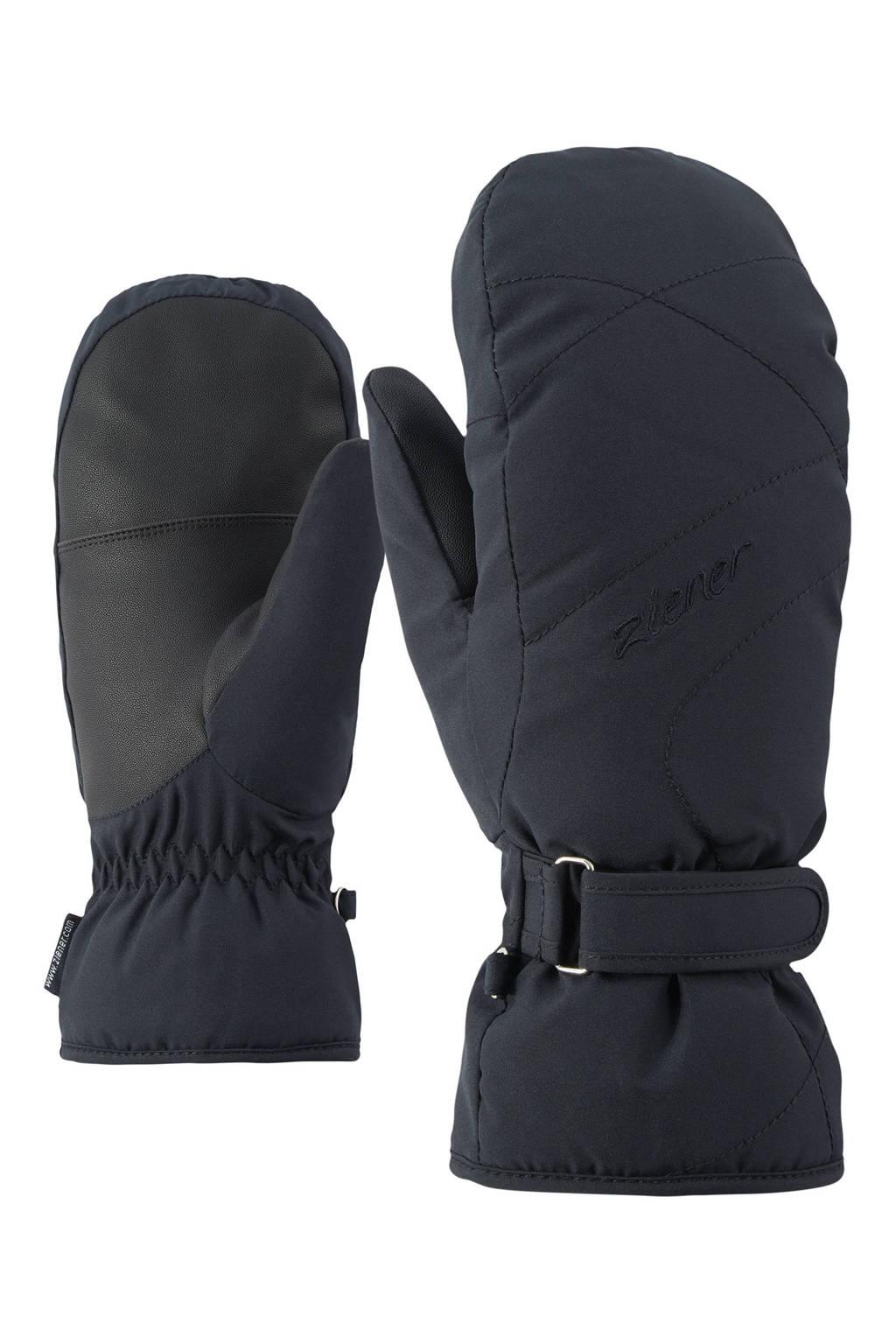 Ziener skihandschoenen KADDYLA zwart, Zwart