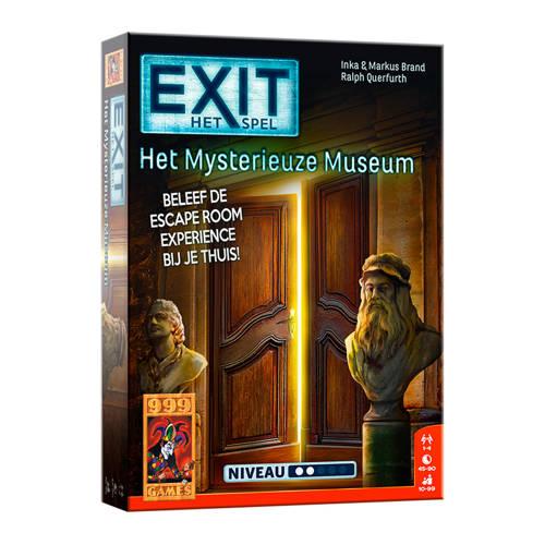 999 Games EXIT het mysterieuze museum denkspel kopen