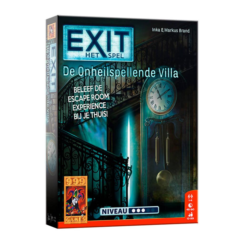 999 Games EXIT De onheilspellende villa denkspel