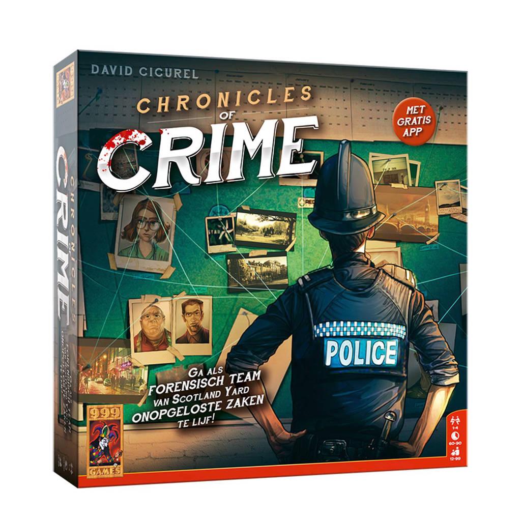 999 Games Chronicles of crime bordspel