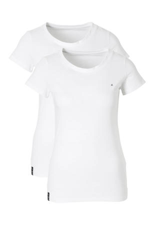 Two pack round neck T-shirt