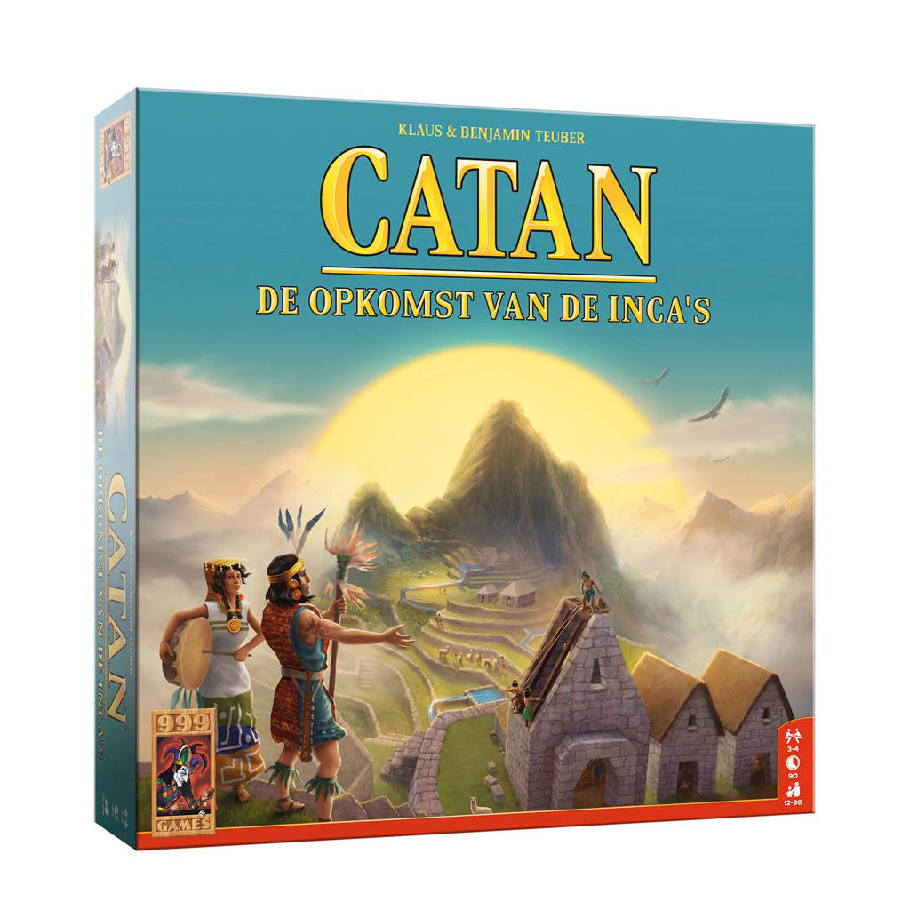 999 Games Catan: De opkomst van de inca's bordspel