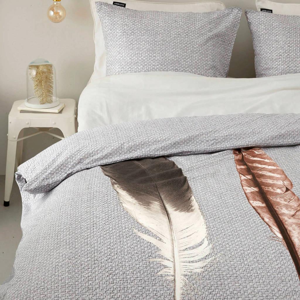 Ambiante flanellen dekbedovertrek lits jumeaux, Lits-jumeaux (240 cm breed)