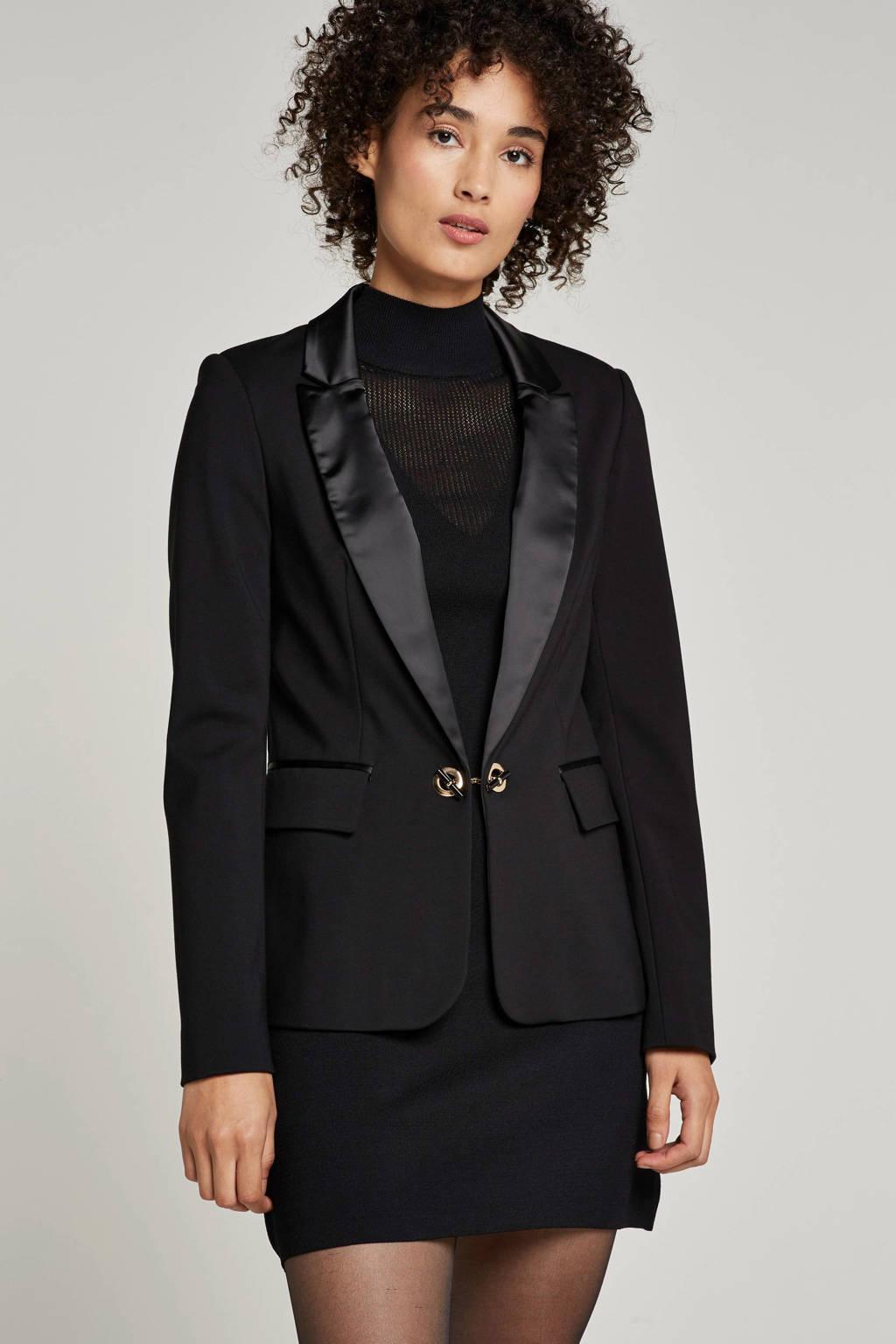 GUESS jersey blazer, Zwart