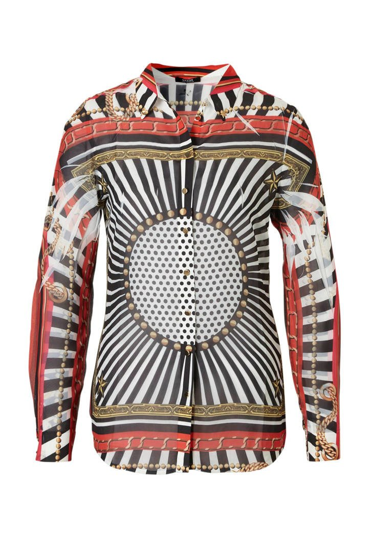 all GUESS met blouse over print UnwqPEw