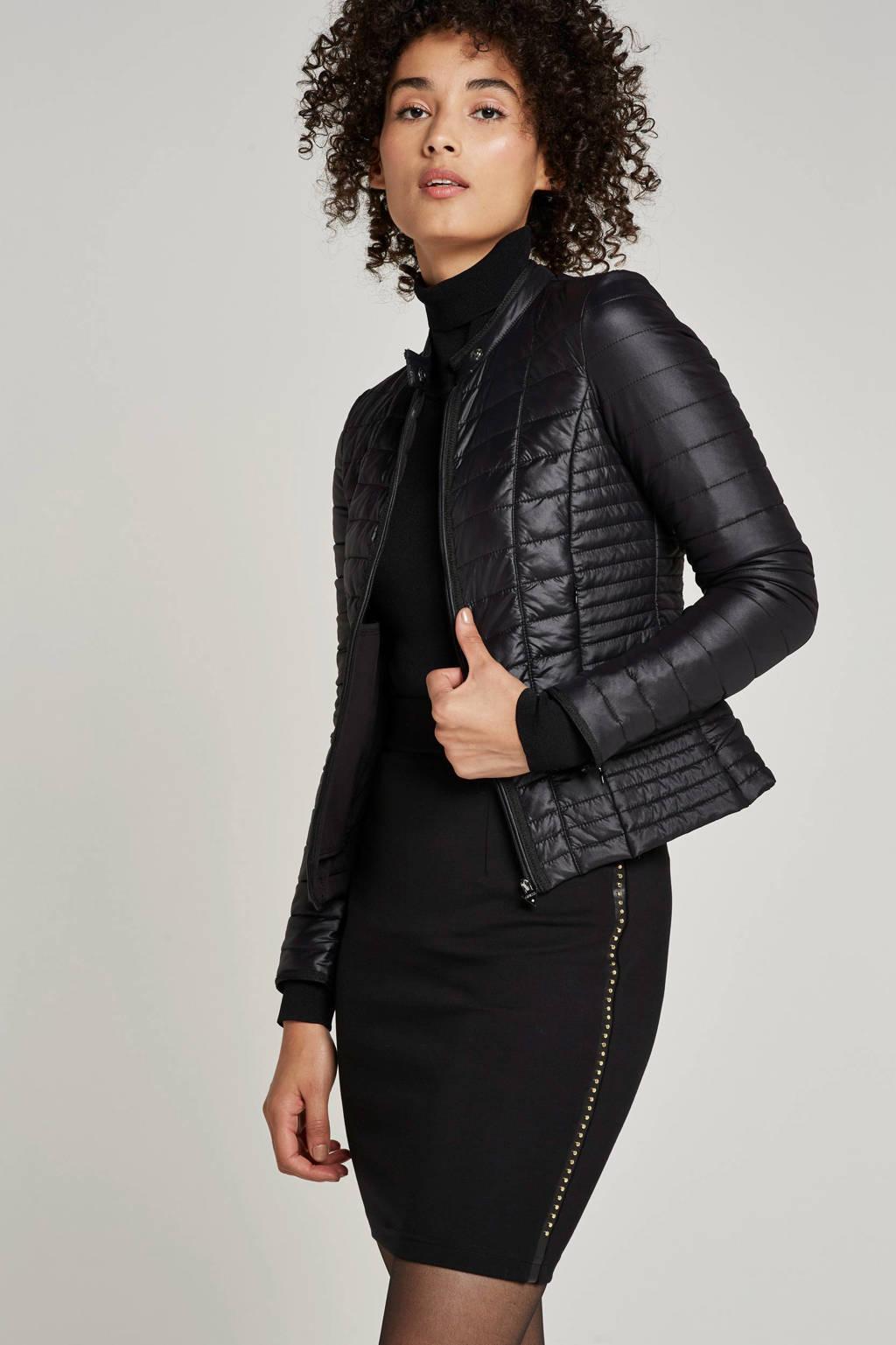 GUESS gewatteerde jas, Zwart