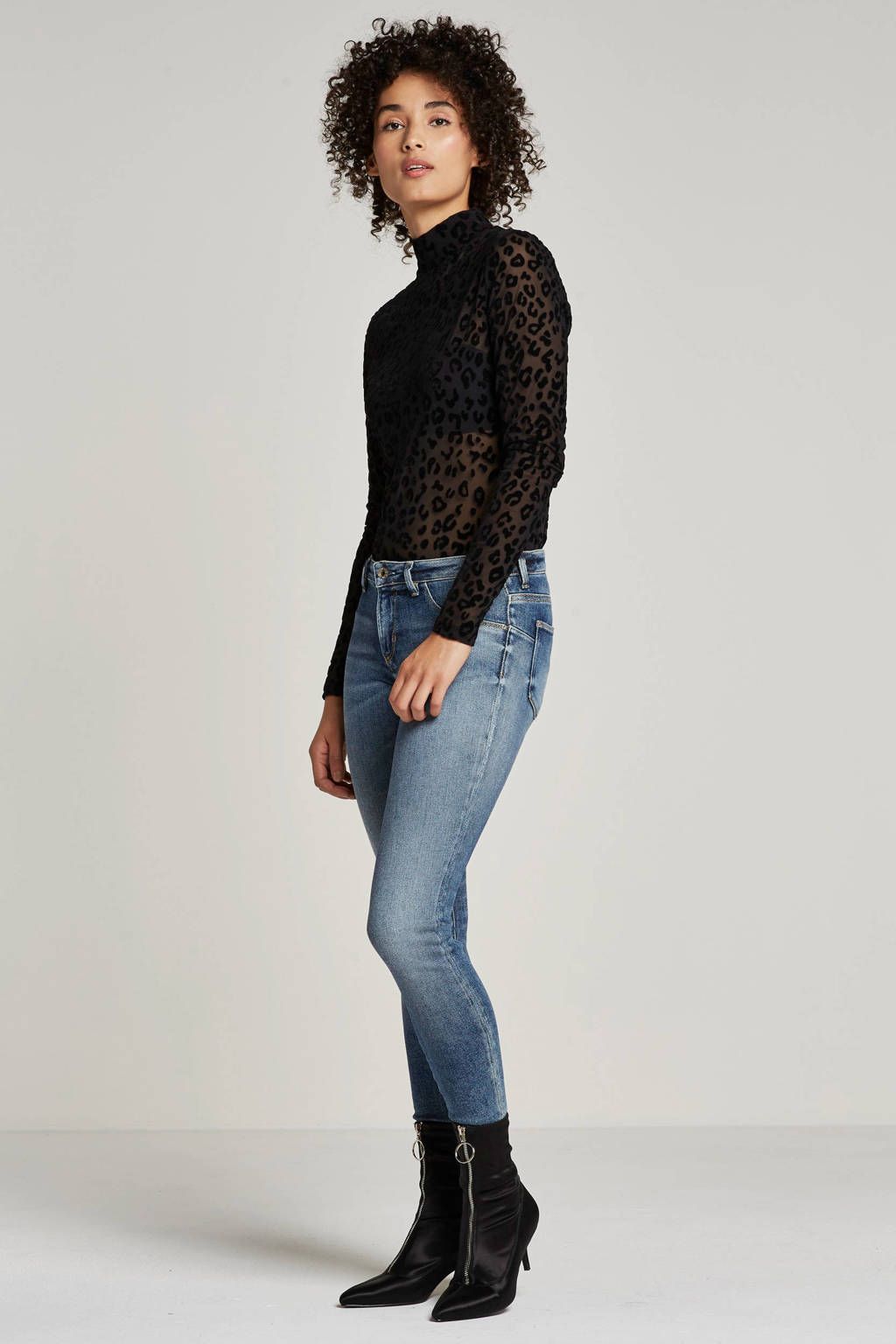 GUESS skinny fit jeans, Blauw