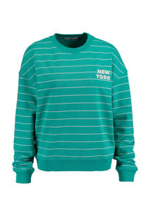 America Today sweater Sancia turquoise