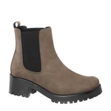 5th Avenue leren chelsea boots grijs