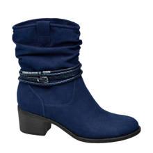 Graceland enkellaarzen blauw