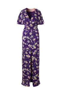 Mango maxi jurk met bloemenprint
