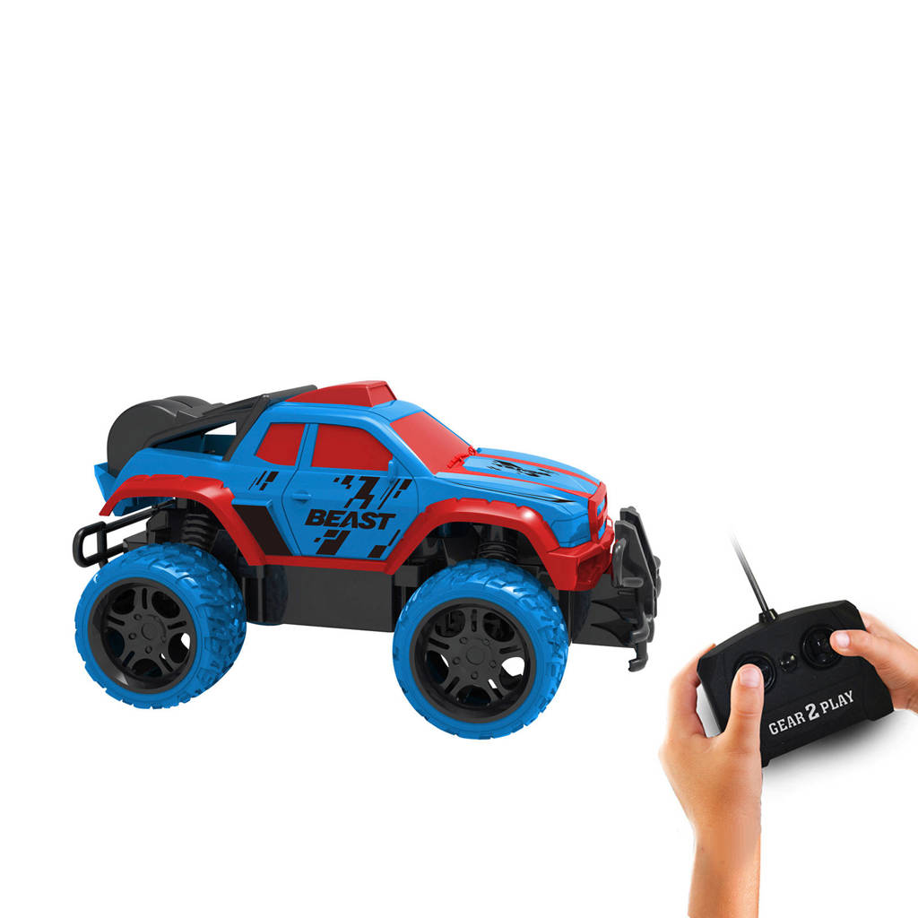 Gear2play Monstertruck Beast Bestuurbare Auto 118 Wehkamp
