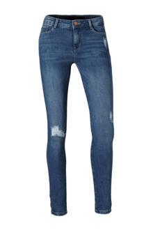 Clockhouse super skinny jeans donkerblauw