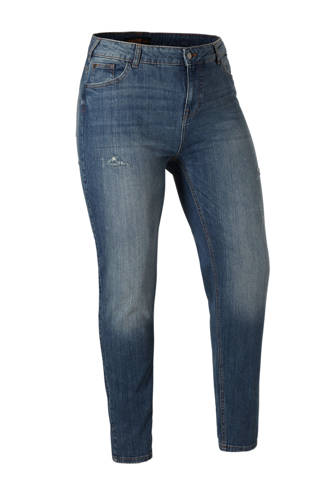 XL Clockhouse girlfriend fit jeans blauw