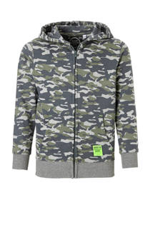 C&A Here & There vest met camouflage print