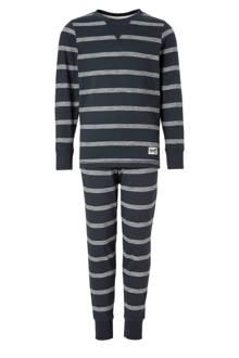 Here & There   gestreepte pyjama marine