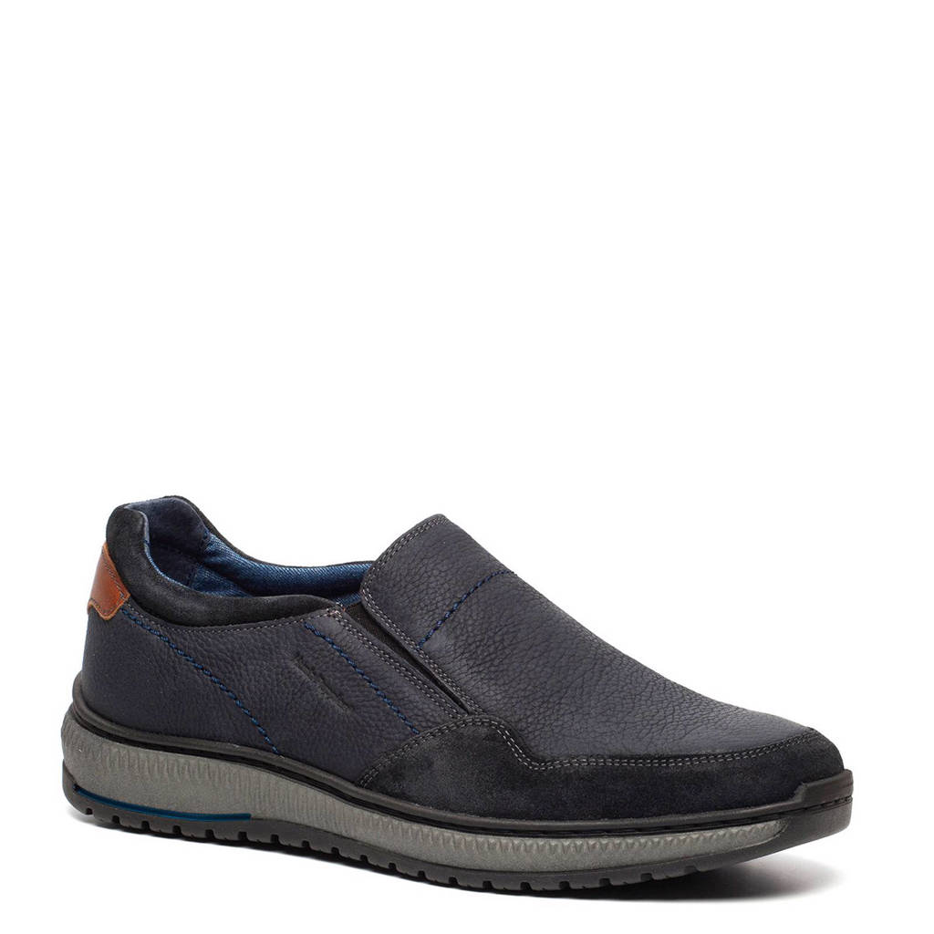 Hush Puppies slip on blauw, Blauw