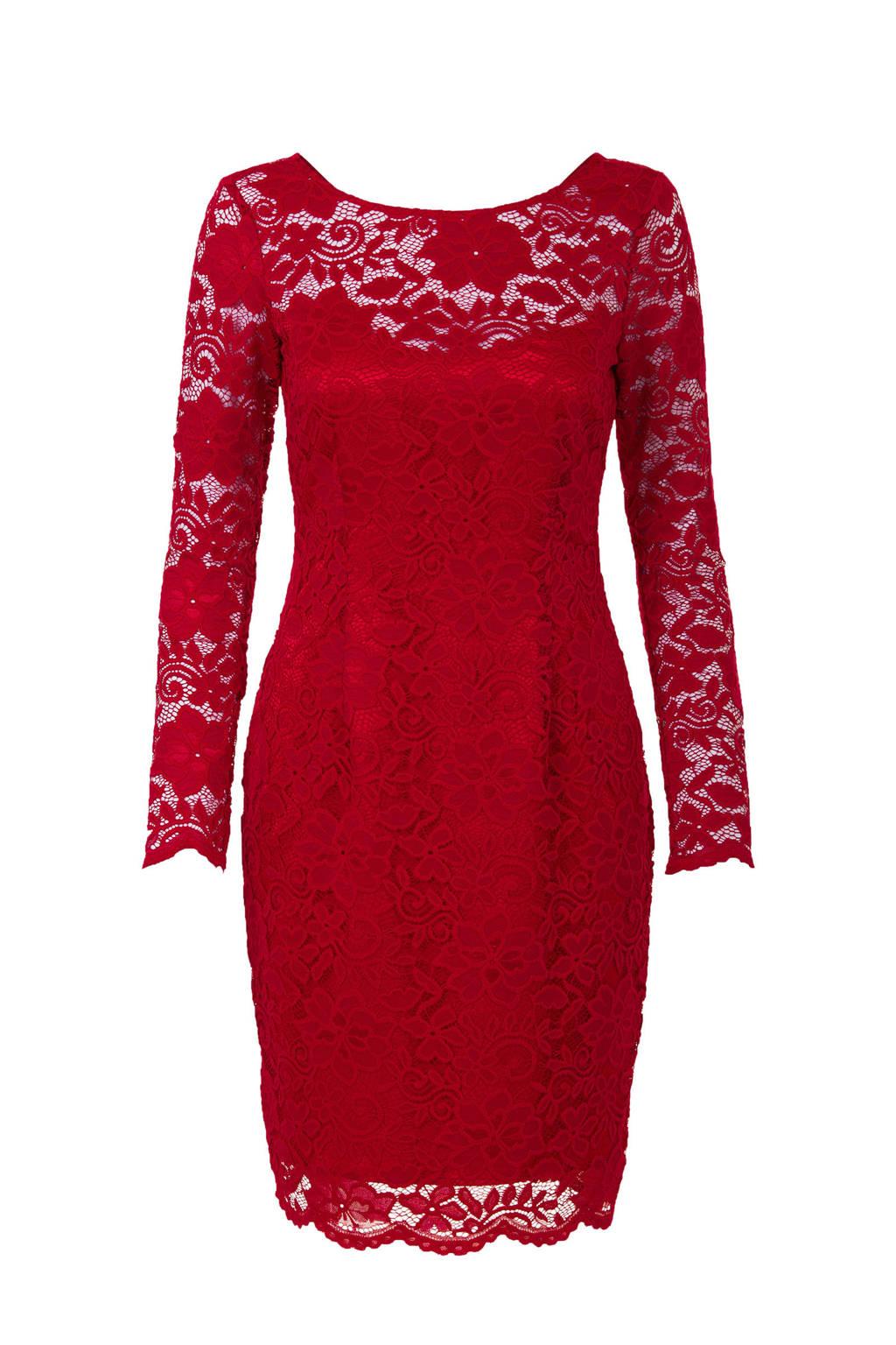 a6fd21d68ac342 Steps jurk rood