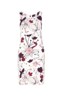 s.Oliver RED LABEL jurk met bloemen wit/roze