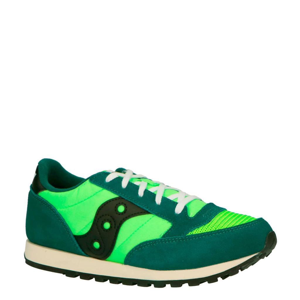 Saucony  Jazz Original Vintage sneakers groen, Groen/zwart