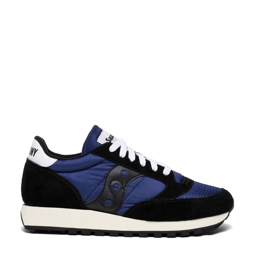Saucony Jazz Original Vintage sneakers zwart/blauw, Zwart/blauw