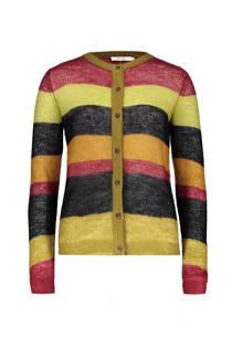 Sissy-Boy vest van mohair geel (dames)