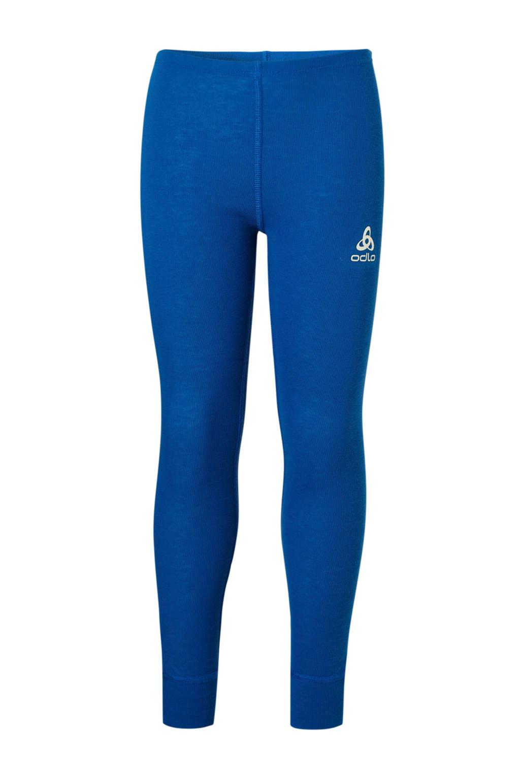 Odlo thermo sportbroek kobaltblauw, Kobaltblauw