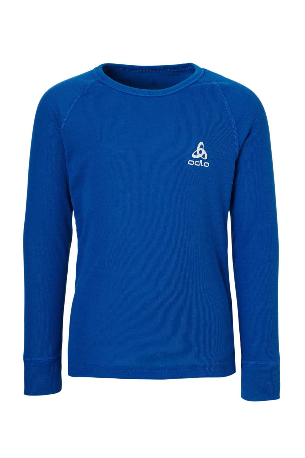 Odlo thermo sport T-shirt blauw, Blauw