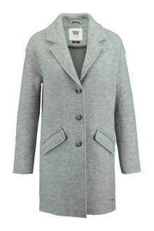 wollen coat Heleen grijs