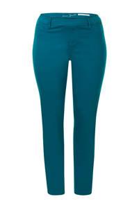 Miss Etam Plus slim fit tregging blauw, Blauw