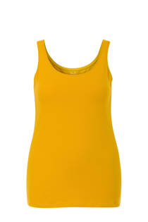 Miss Etam Plus singlet geel (dames)