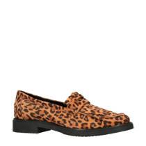 Sacha lakleren loafers bruin (dames)