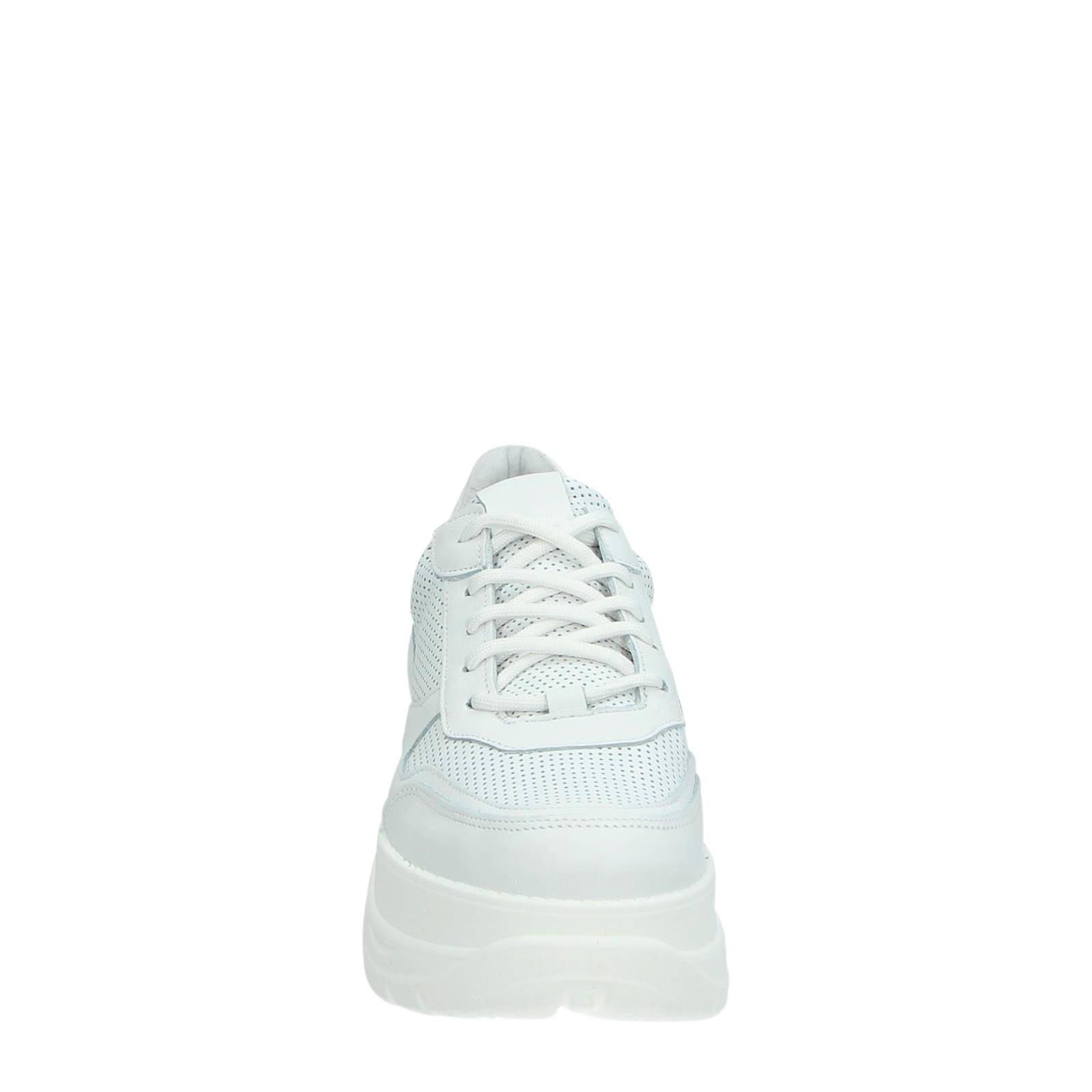 Steve Madden sneakers met hoge zool zwart | wehkamp