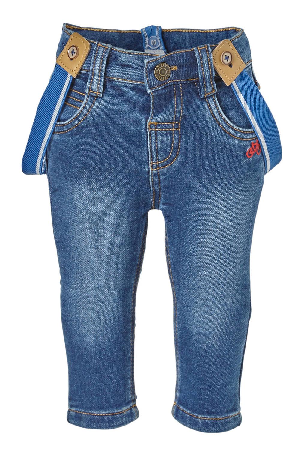 C&A Baby Club jeans donkerblauw, Lichtblauw