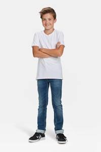 WE Fashion T-shirt - set van 2 wit, White Uni