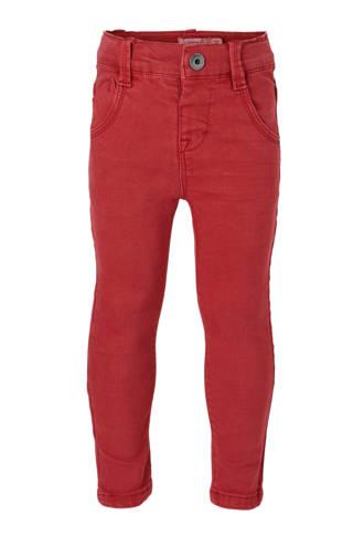 MINI skinny jeans Theo rood