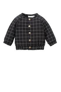 name it BABY baby vest Olmus met strepen zwart