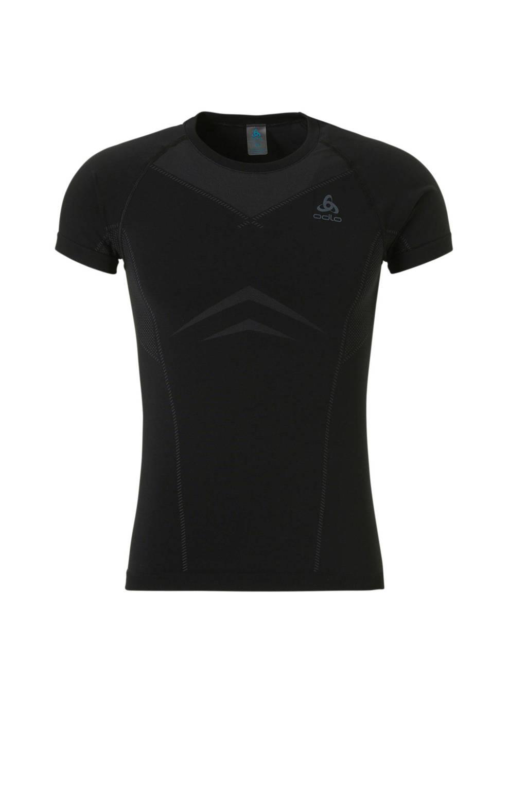 Odlo thermo sport T-shirt LIGHT, Zwart
