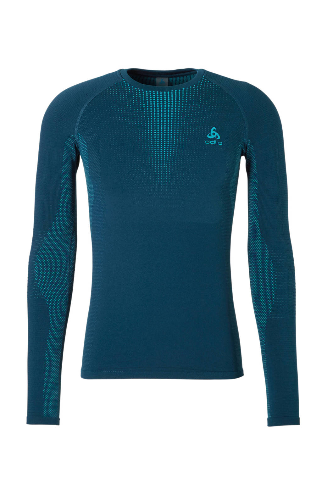 Odlo thermo T-shirt blauw, Donkerblauw