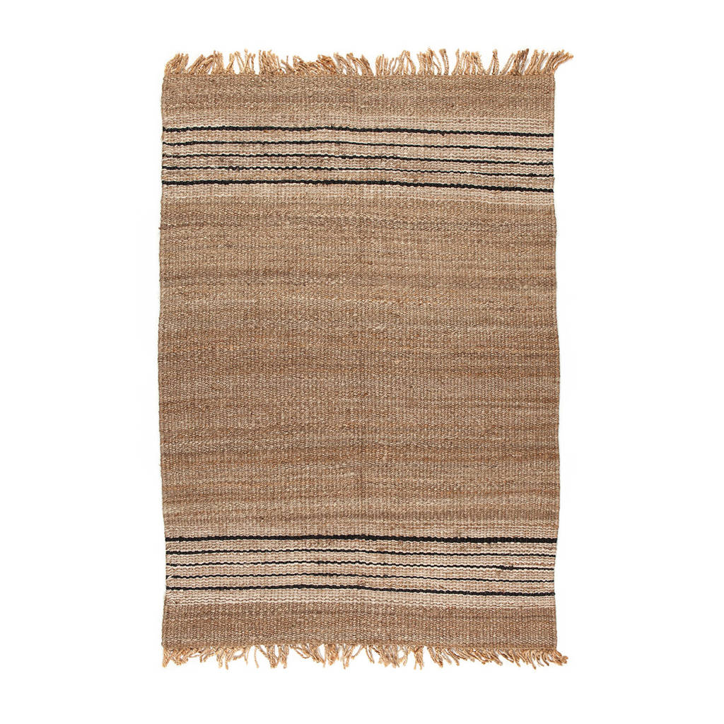 AAI made with love vloerkleed  (300x200 cm), Camel/zwart