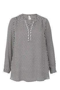 Miss Etam Plus blouse met lange mouw (dames)