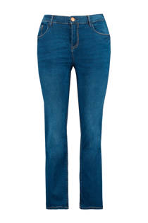 MS Mode straight fit jeans blauw (dames)