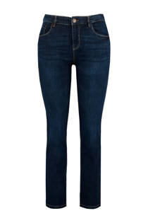 MS Mode straight fit jeans donkerblauw (dames)