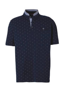 Westbury polo met stippenprint