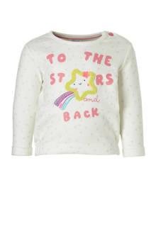 Baby Club sweater met sterrenprint