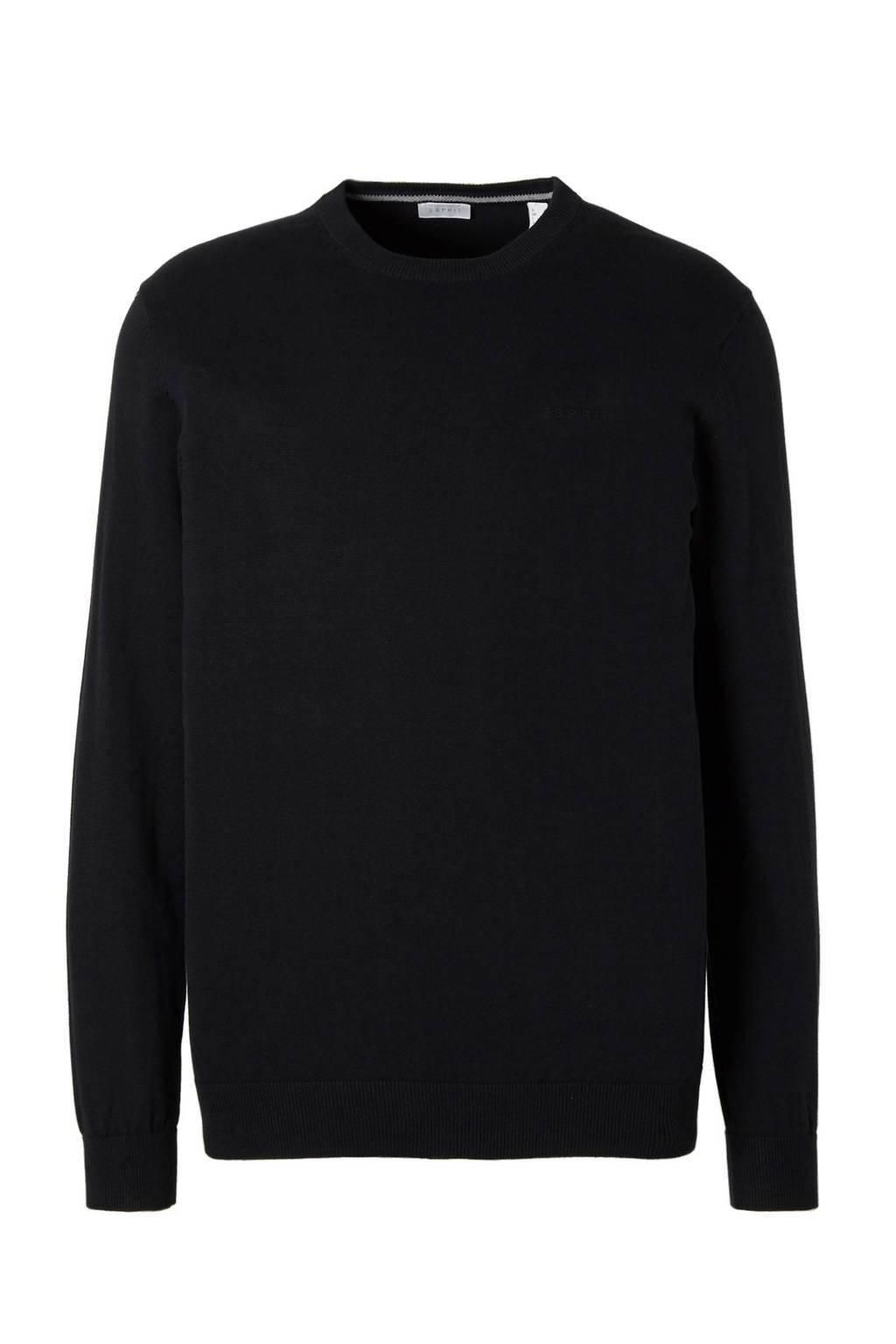 ESPRIT Men Casual trui, Zwart