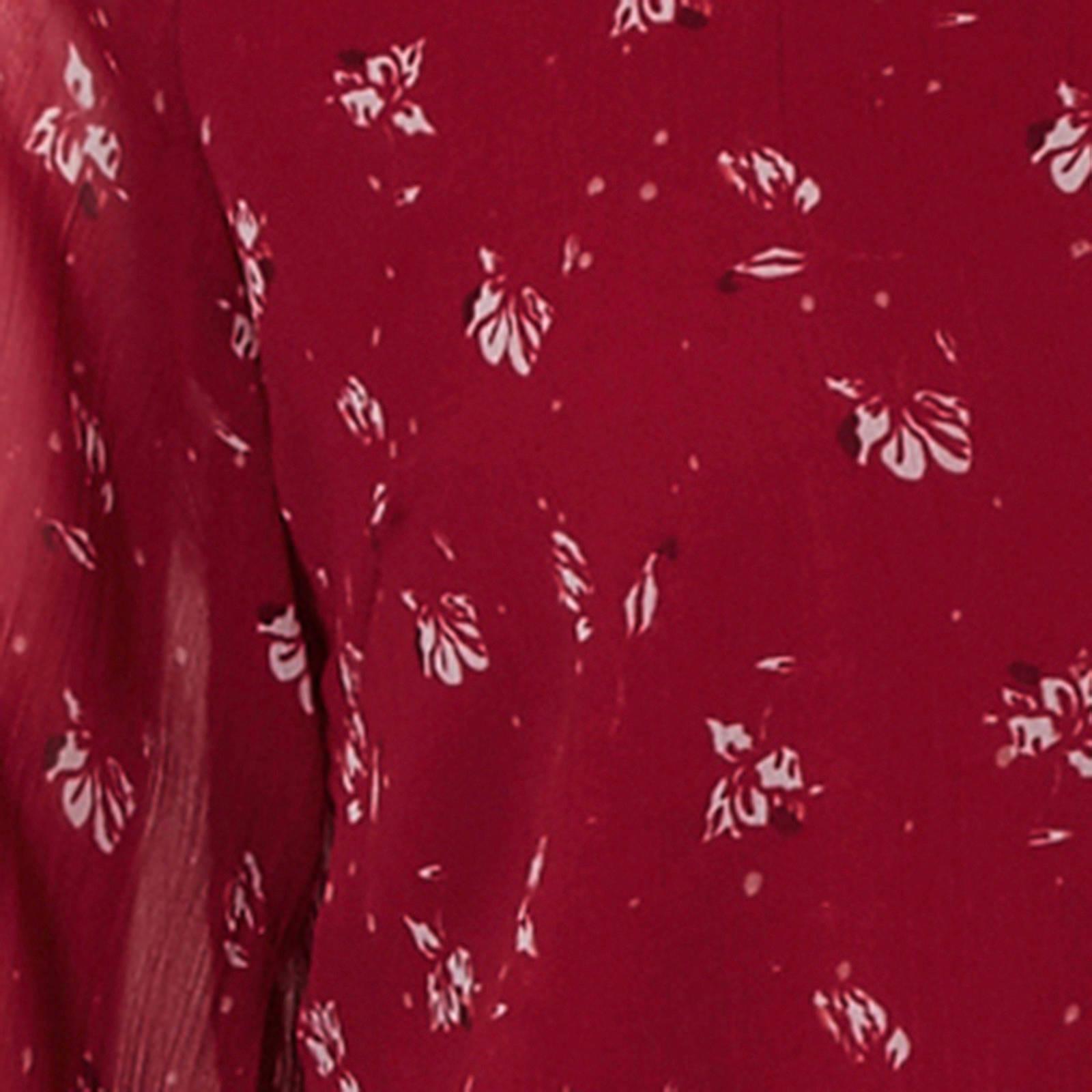 met VERO met jurk MODA met bloemenprint MODA bloemenprint VERO bloemenprint VERO MODA jurk jurk pAqwFAC