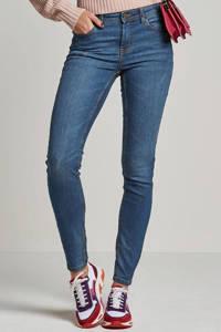 JACQUELINE DE YONG skinny jeans JDYMAGIC medium blue denim, Blauw